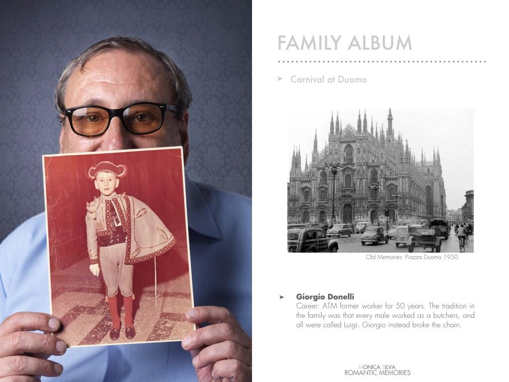 Giorgio Donelli - Family album