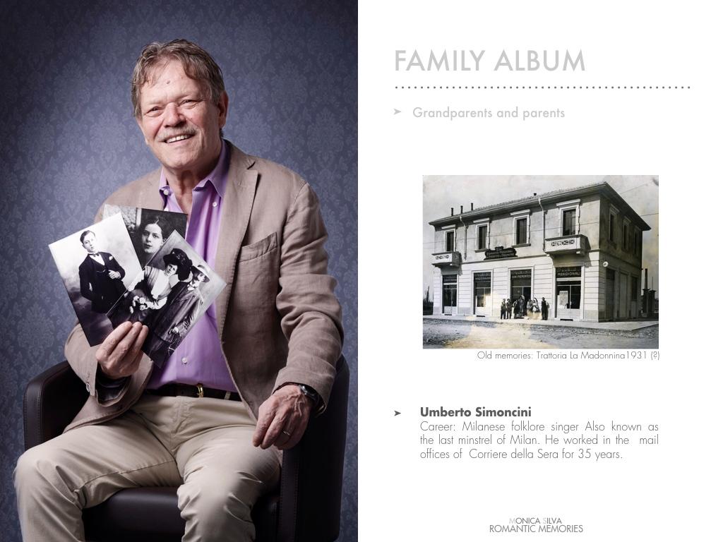 Umberto Simoncini - Family album