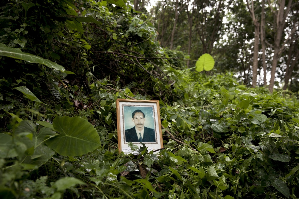 Boonrit Channanrong was shot dead in a rubber plantation on 15 December 2002 in Ta Chana District, Surat Thani province. He was the leader of a local community working to expose illegal logging by National Park officials.
