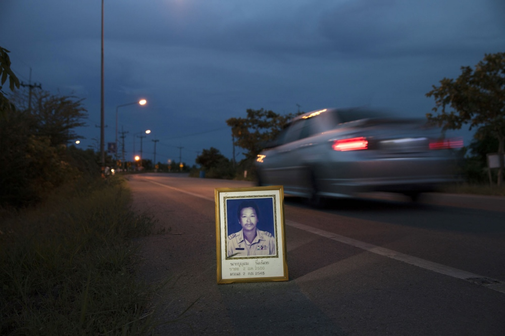 Boonsom Nimnoi, 44, was shot dead on a road close to his home on 2 September 2002 in Baan Laem, Phetchaburi province. He was a member of the Amphur Baan Laem Ocean Conservation Group and a leader of a campaign against a polluting petro-chemical plant.