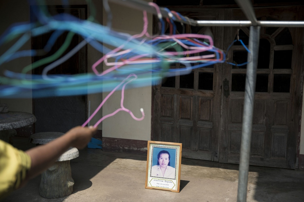 Chaweewan Pueksungnoen, 35, a campaigner from Na Klang Tambon Administrative Organisation, Na Khon Ratchasima province was shot dead on the 21 June 2001 outside of her house. She was challenging the mismanagement and corruption in local construction projects that were against public interest.