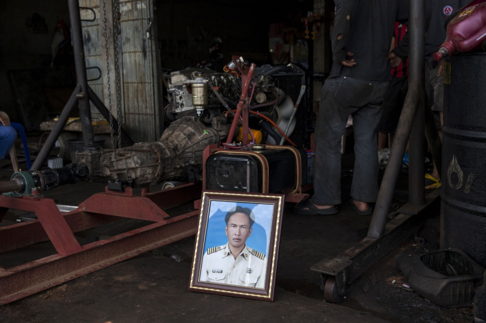 Prajob Naowa-opas, 43, was shot four times at a garage whilst fixing his car on 25 February 2013 in Phanom Sarakham in Chachoengsao Province. He was a prominent environmentalist and led villagers in a campaign to expose the dumping of toxic waste around his village of Nong Nae.