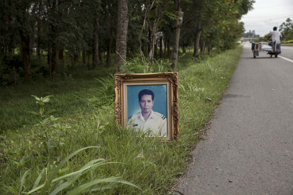 Preecha Thongpaen, 57, was shot dead on a main road on 27 September 2002 in Thung Song district of Nakhon Si Thammarat province, whilst campaigning against a poorly conceived sewage treatment plant. He was the leader of the Tambon Kuan Krod Environmental Conservation Group.