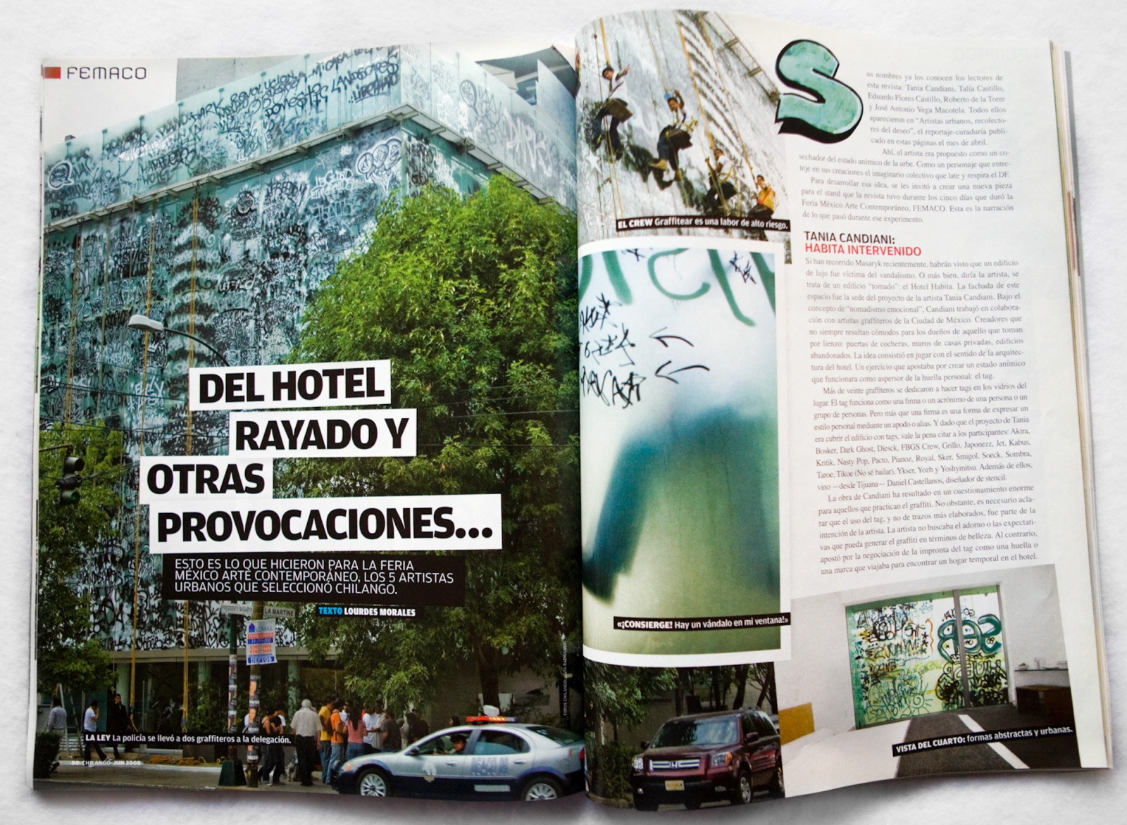 Chilango Magazine / Revista Chilango. Ed. Expansión. 2008. Mexico.