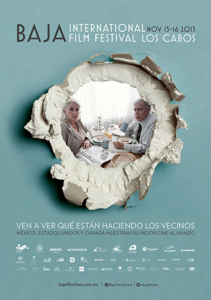 Los Cabos Film Festival 2nd Edition Poster_ Mexico. 2013. Mexico.