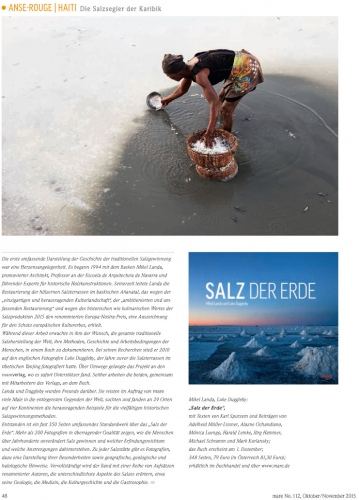 Client: mare magazine -Germany  Published: October 2015
