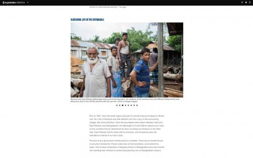 Client: Al-Jazeera Projects  - USA  Published: 2015