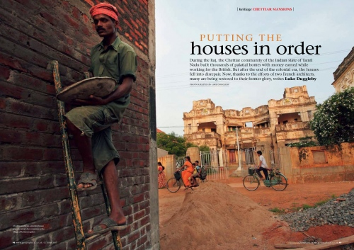 Client: Geographical Magazine - Magazine of the Royal Geographical Society - UK  Published: 2015