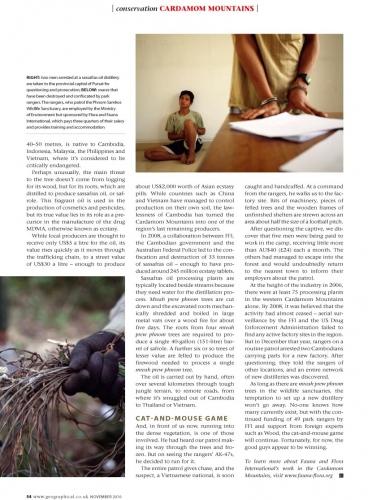Geographical Magazine - Magazine of the Royal Geographical Society - UK
