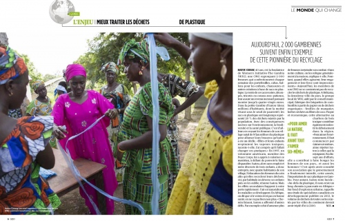 Client: GEO Magazine France  Published: December 2015