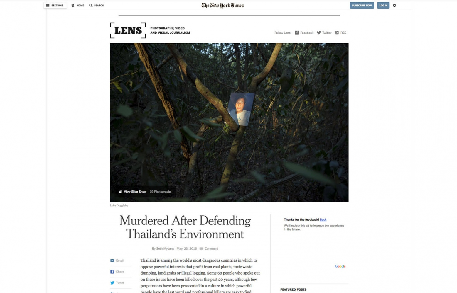 Client: New York Times Lens Blog   Published: May 2016