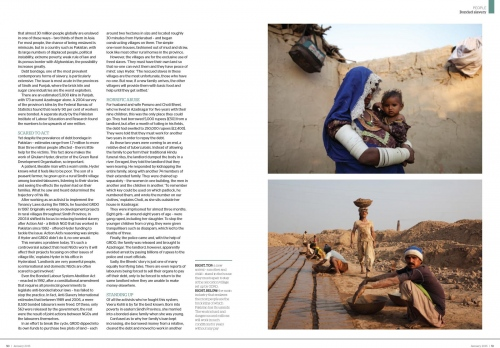 Client:  Geographical Magazine  - Magazine of the Royal Geographical Society - UK   Published: January 2015