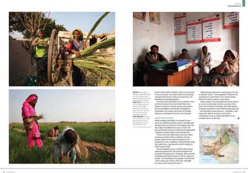 Client:  Geographical Magazine  - Magazine of the Royal Geographical Society - UK   Published: January 2015