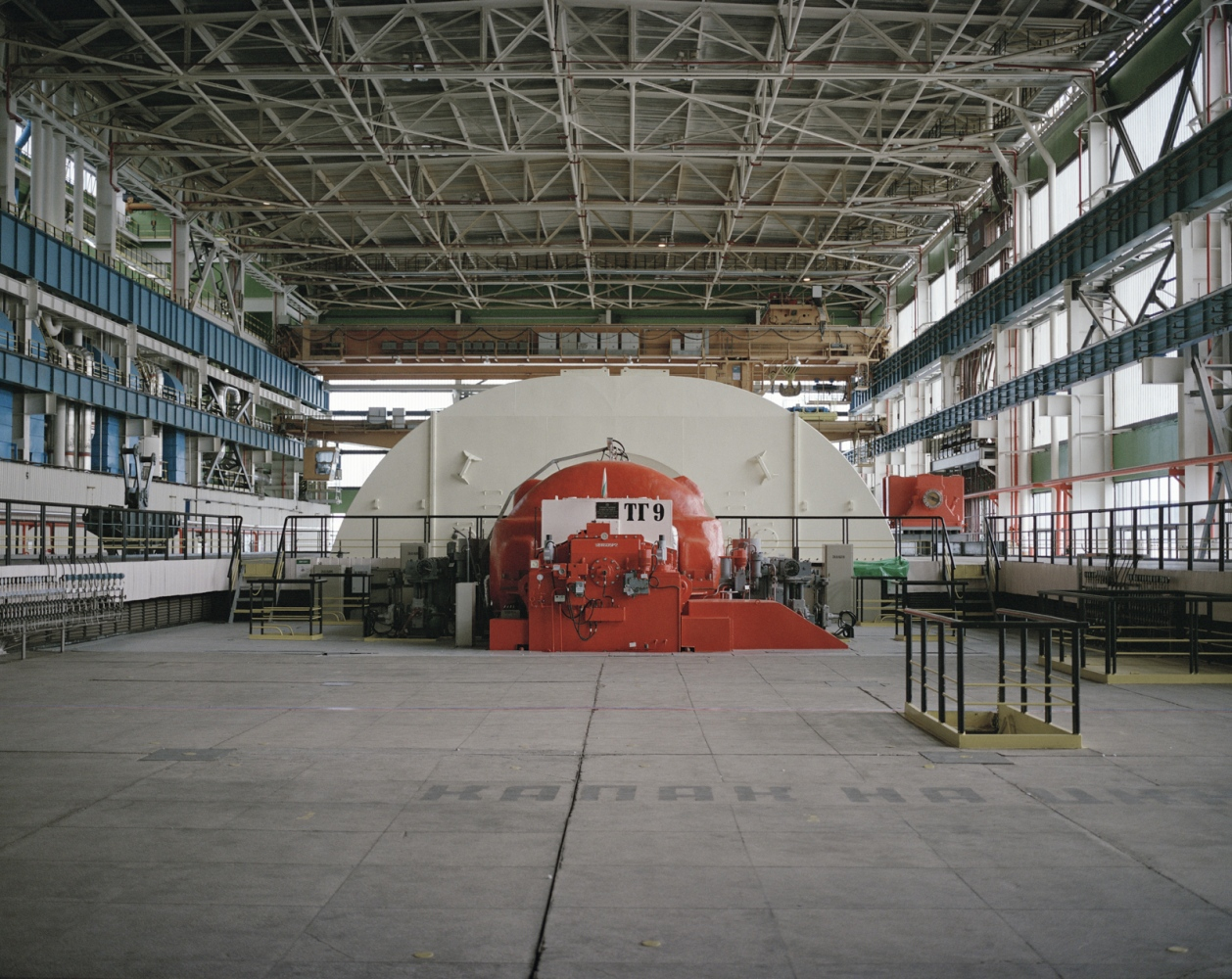 Bulgaria, Kozloduy. Interior of a nuclear plant.