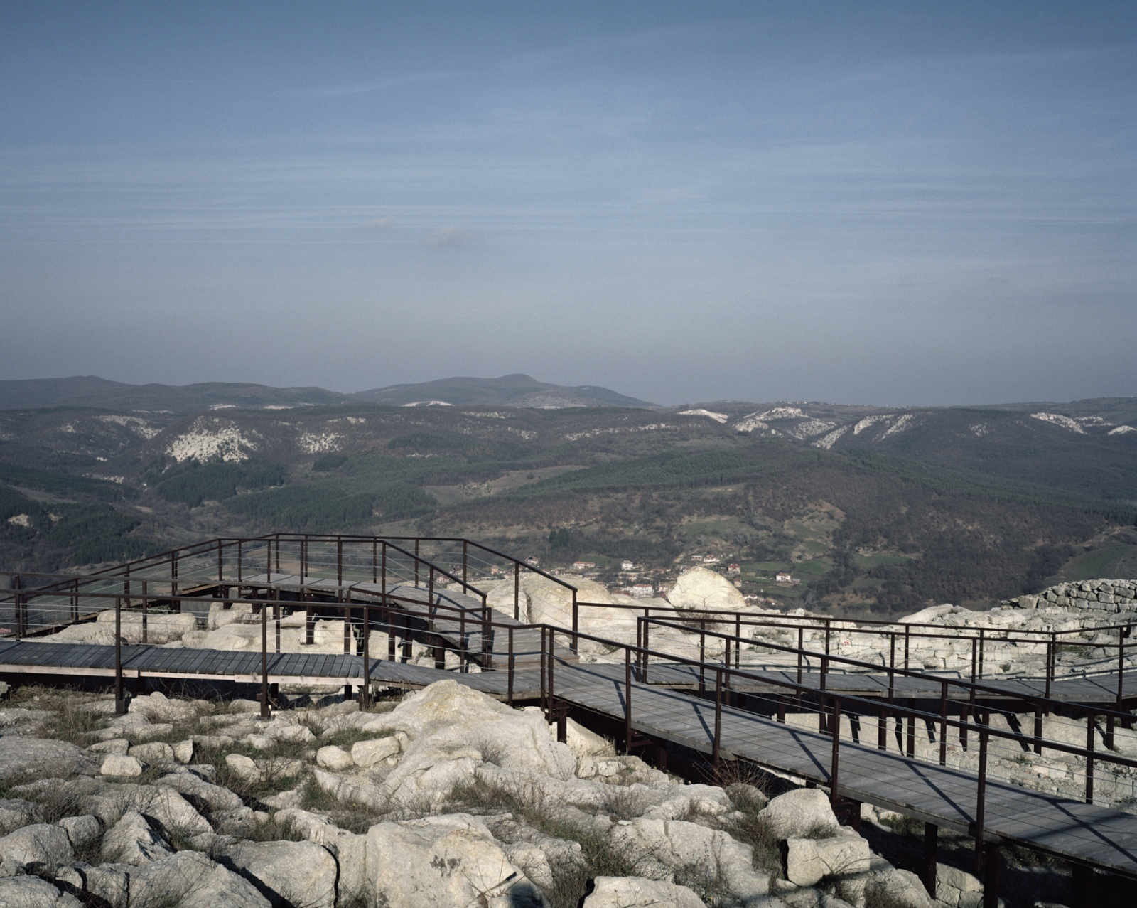 Bulgaria, Perperikon. The remains of the temple from where Alexander the Great decided to built his Empire.