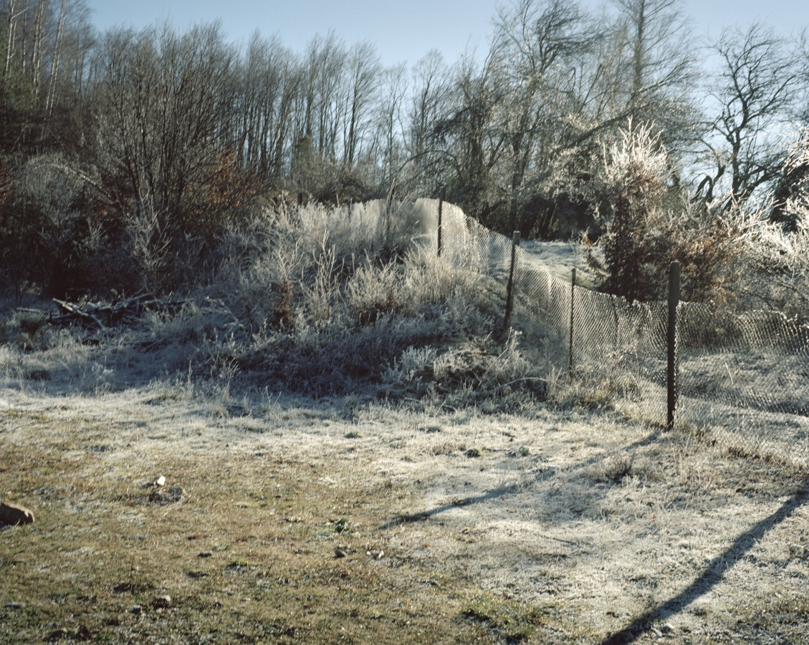 Bulgaria, Rudozen. The fence part of the old Iron Curtain that was separating Bulgaria from Greece.