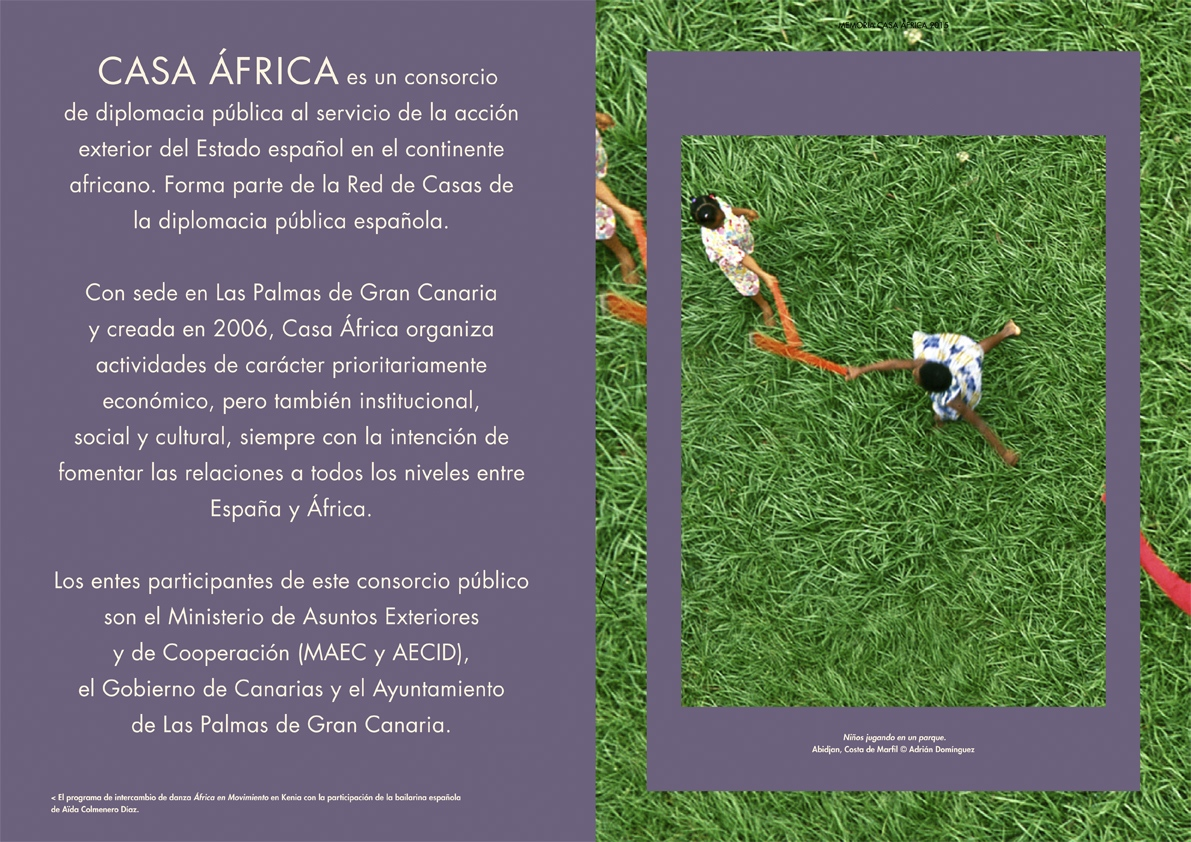Abidjan kids for Casa Africa (Spain) 1 PAGE