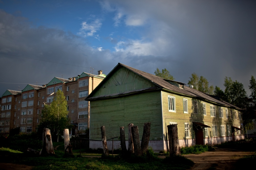 Komi villages, mostly consisting of wooden houses, connect the stories of two nations: the Russian and the Komi.