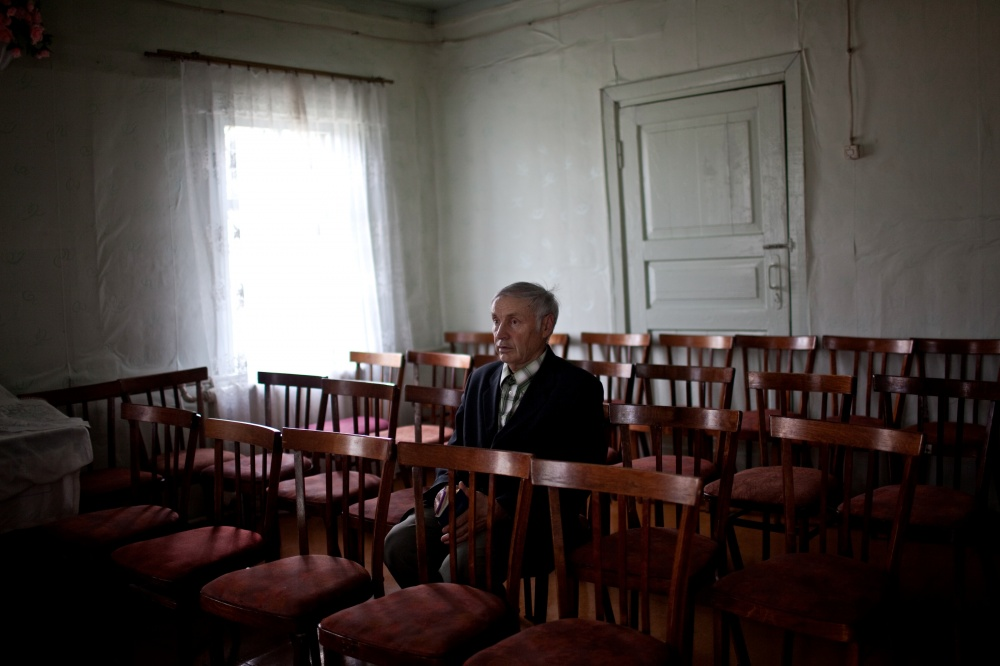 Bekk Villi Oskarovich, 77 years old from the Ukraine, was held in captivity until 1945, then was promised to be returned home, but he was exiled to Komi Republic.
