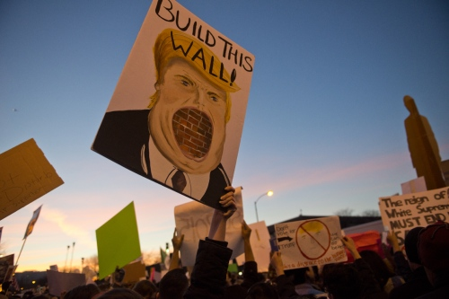 Trump protest 2016