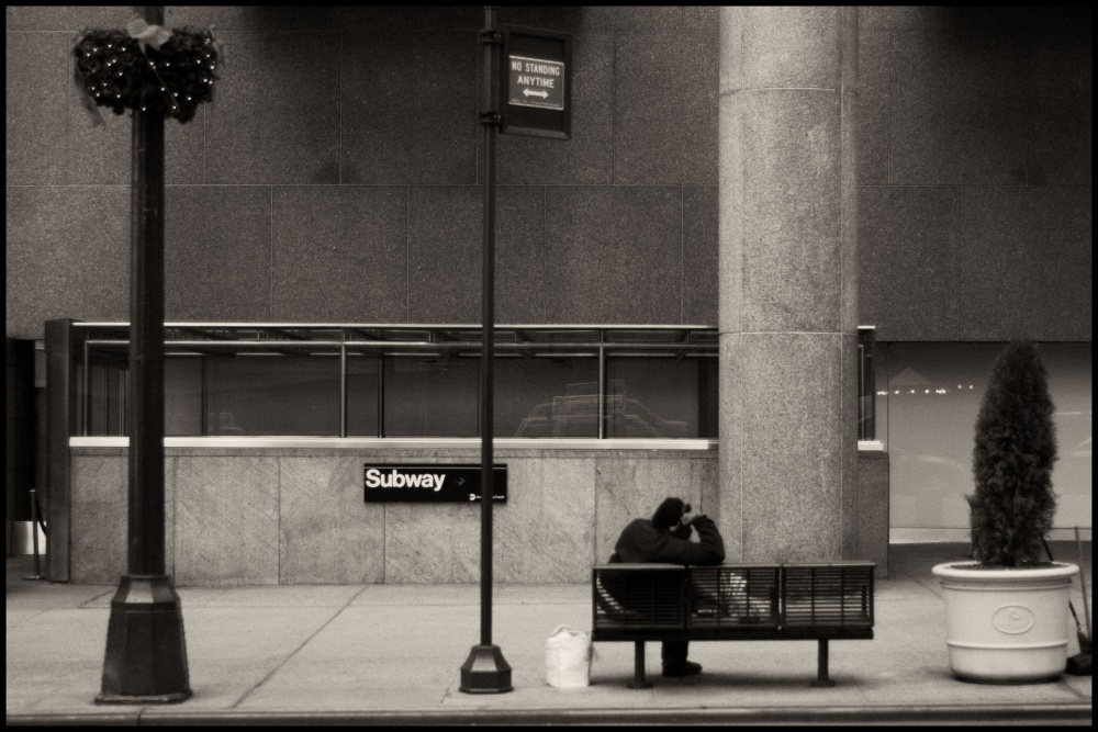 Art and Documentary Photography - Loading 42nd Street Bench.jpg