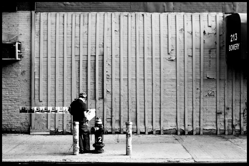 Art and Documentary Photography - Loading Bowery news.jpg