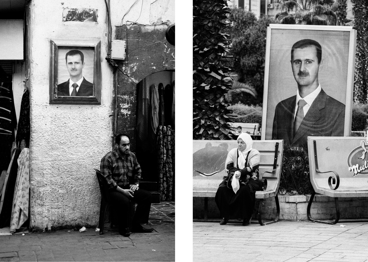 L: Amara, Old Damascus 2010. R: Arnous square, 2007.