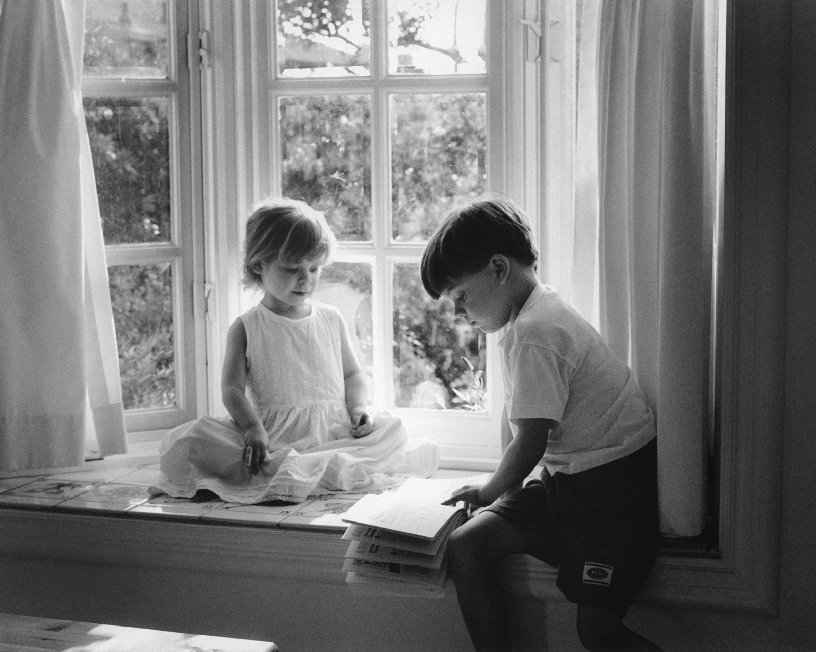 Ben & Emma on Window Seat