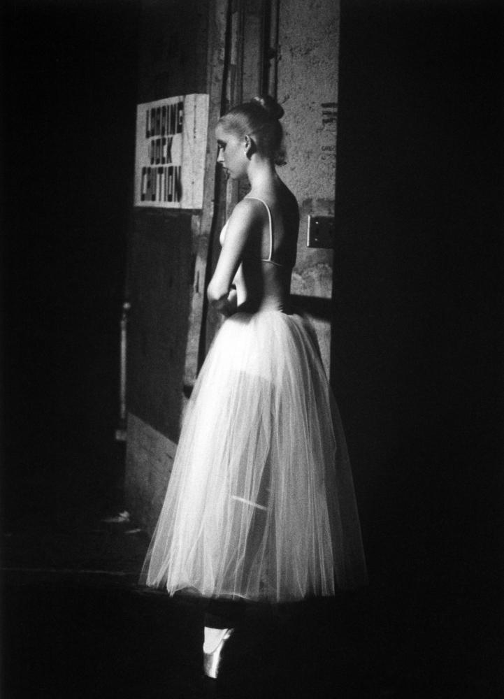 Erin on Pointe Backstage