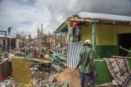 Haiti, Post Matthew