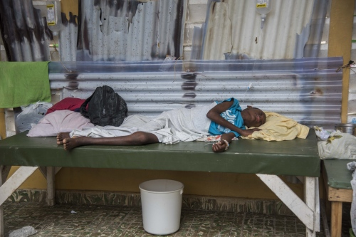 HAITI POST MATTHEW CHOLERA