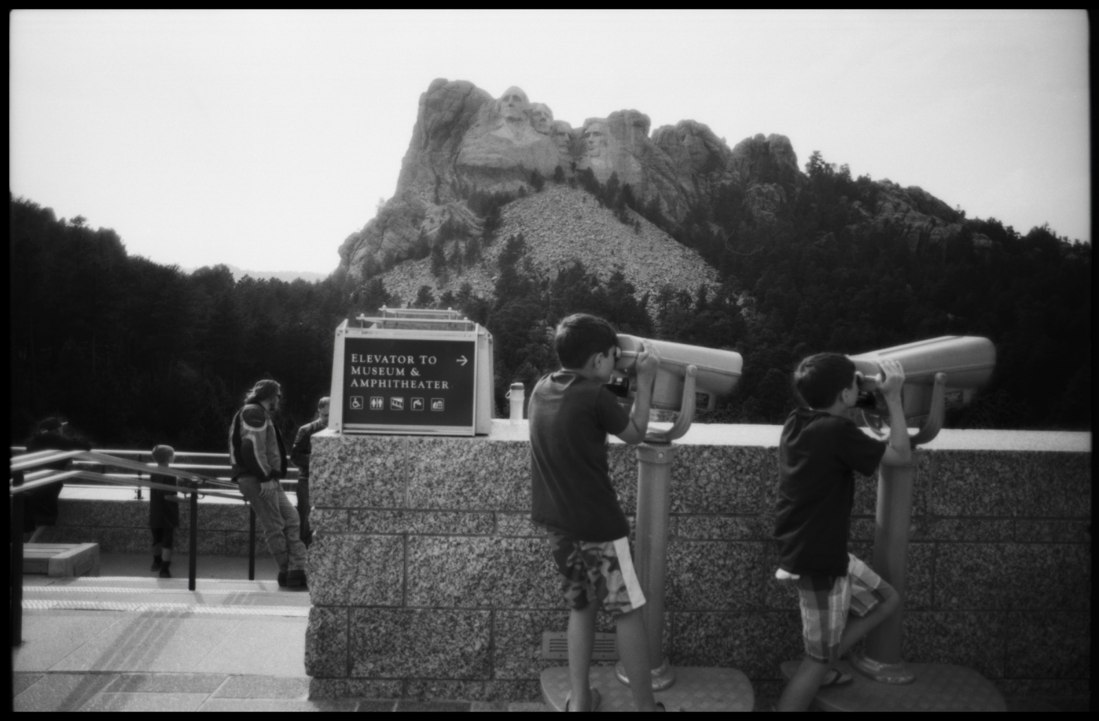 Mt. Rushmore, National Monument, South Dakota, August 2015.
