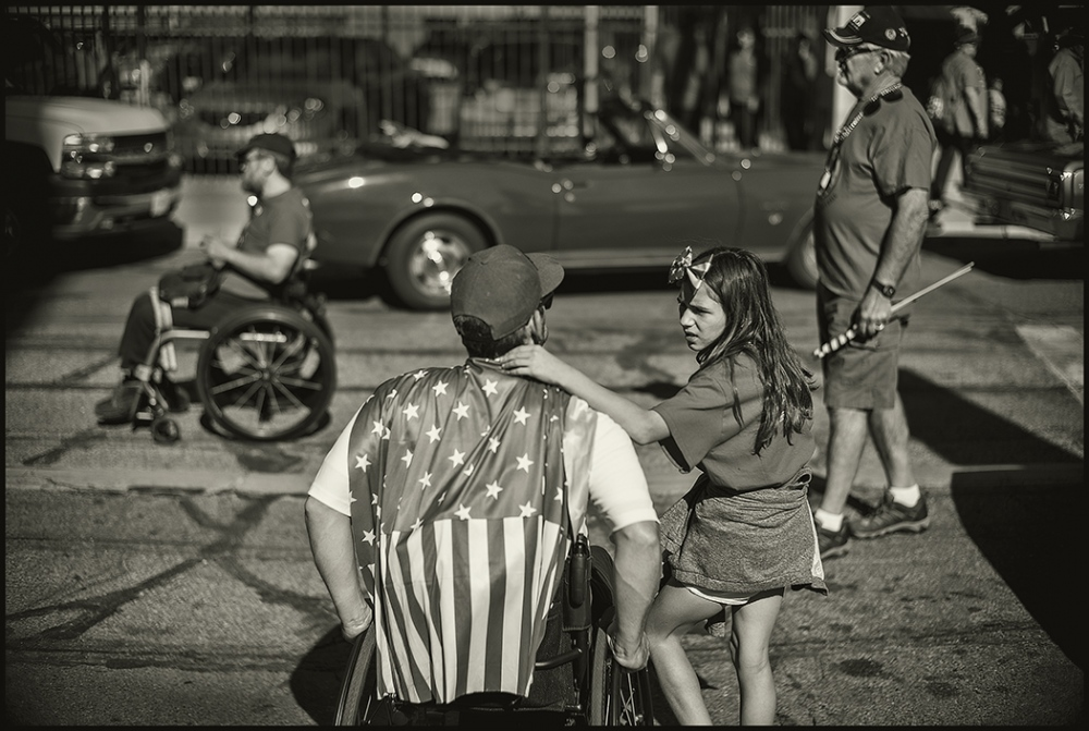 Veterans Day, Tucson, Arizona, November 2016.