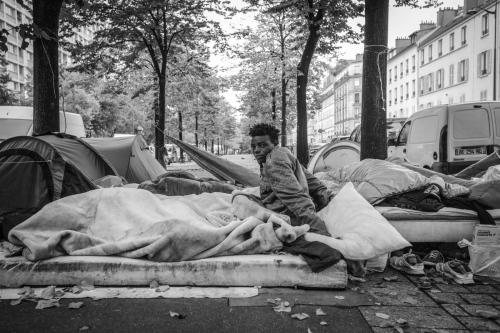 2016: Refugees crisis: Last days in Paris