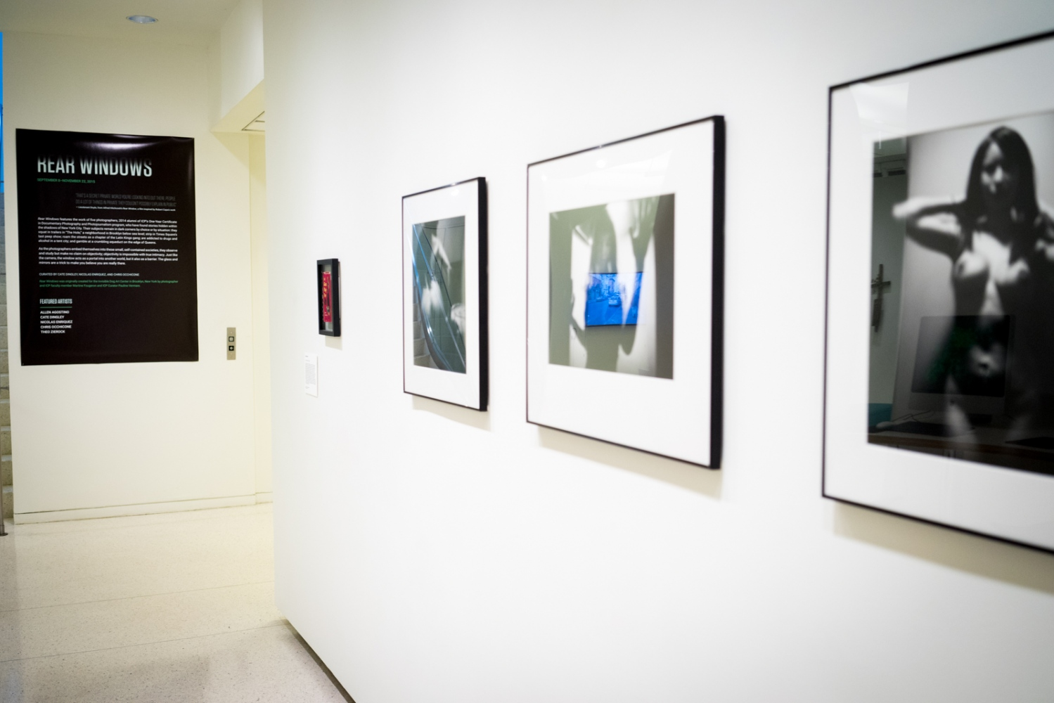 """Rear Windows"" at International Center of Photography, New York, NY 2015"