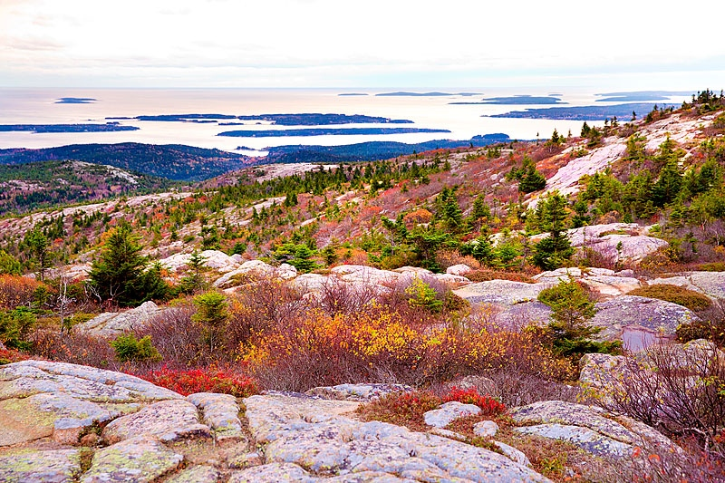 Art and Documentary Photography - Loading 141019-0075_VIEW_FROM_CADILLAC_MOUNTAIN_AT_DUSK_ACADIA_NATIONAL_PARK_MAINE.jpg