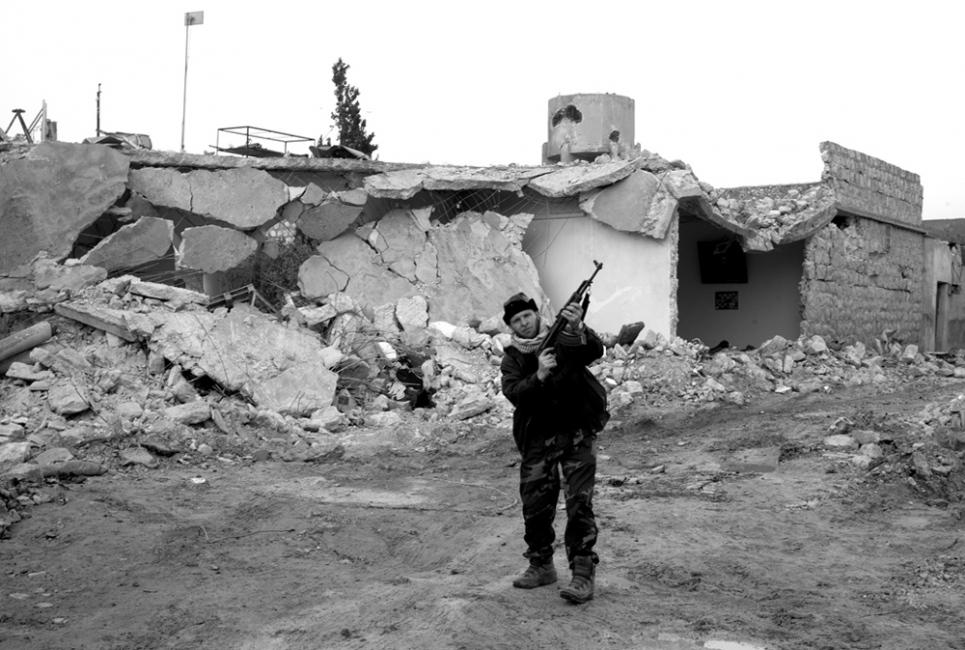 Photography image - Loading Txueka_Txomin-Syrian_fighters.jpg