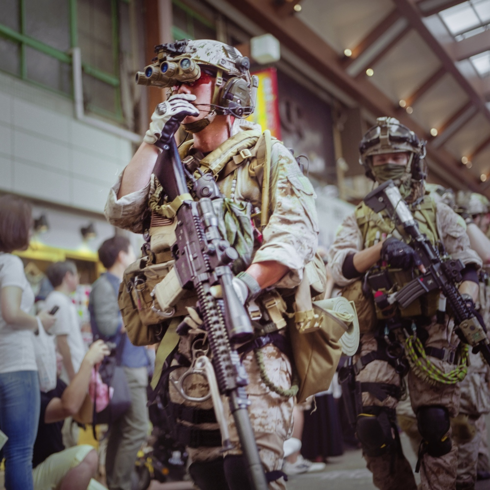 I know this #cosplay, it's #callofduty......
