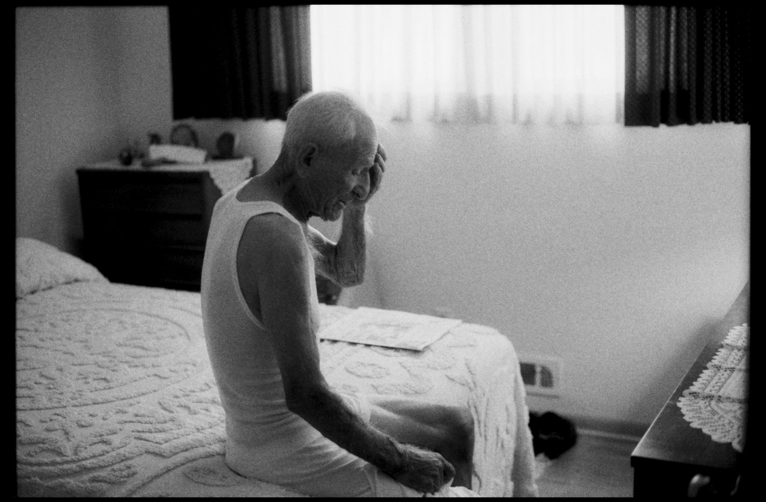 "He said one day, ""I want to tell you something, but I don't know what,"" the grip of the disease overtakes on a daily basis. Ohio, 2011."
