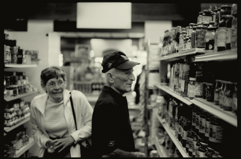 James and Alice, partners in everything, Cleveland, Ohio, 2009.
