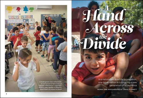 Hand across the Divide-Readers Digest (UK)    Israel