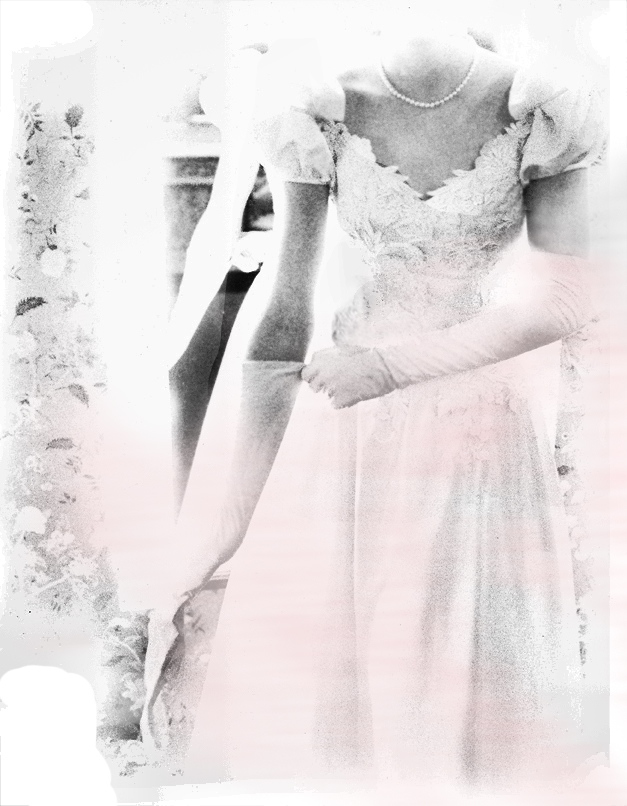 Debutante Ball MADEMOISELLE Helene Silverman AD