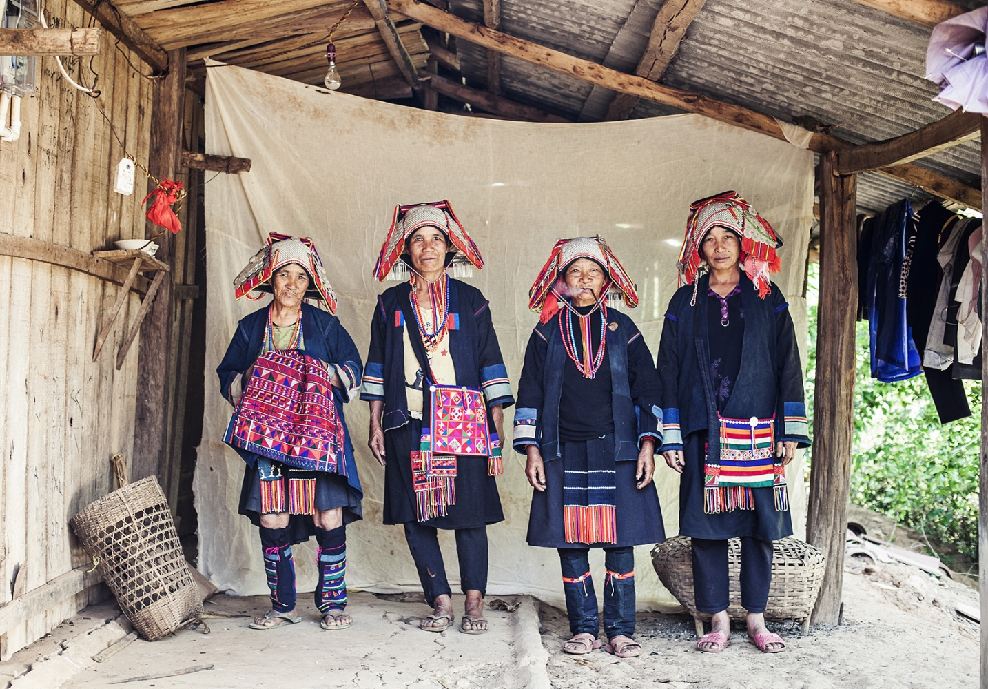Hani women, China