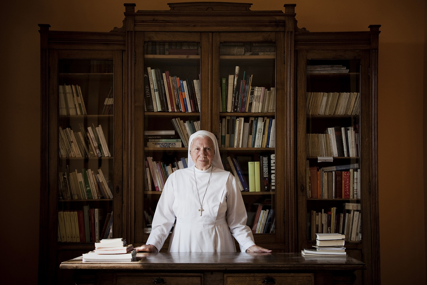 Sister Giuliana Galli, aka Sister Finance, for Vanity Fair, 2012