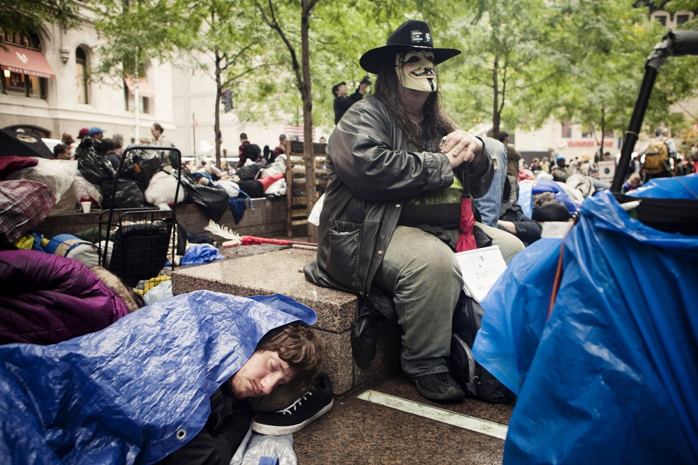OCCUPY WALL STREET, THE DAY AFTER