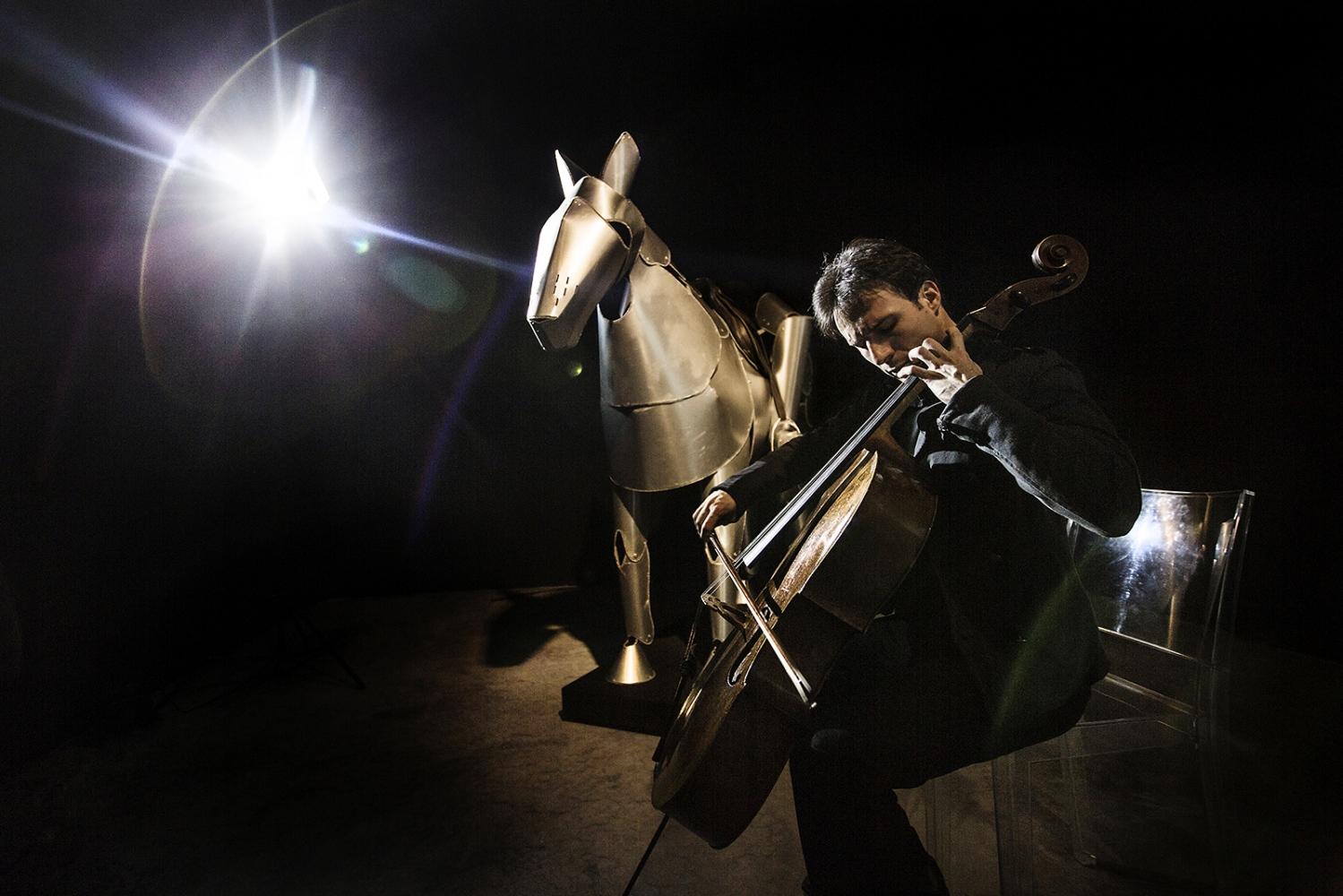 Umberto Clerici, italian cello musician, 2014