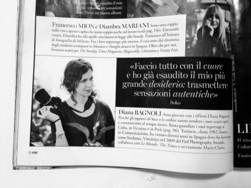 Marie Claire Italy, December, 2016