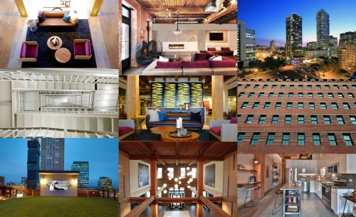 Modera Lofts - Jersey City - New Jersey Commissioned work for Millcreek Properties