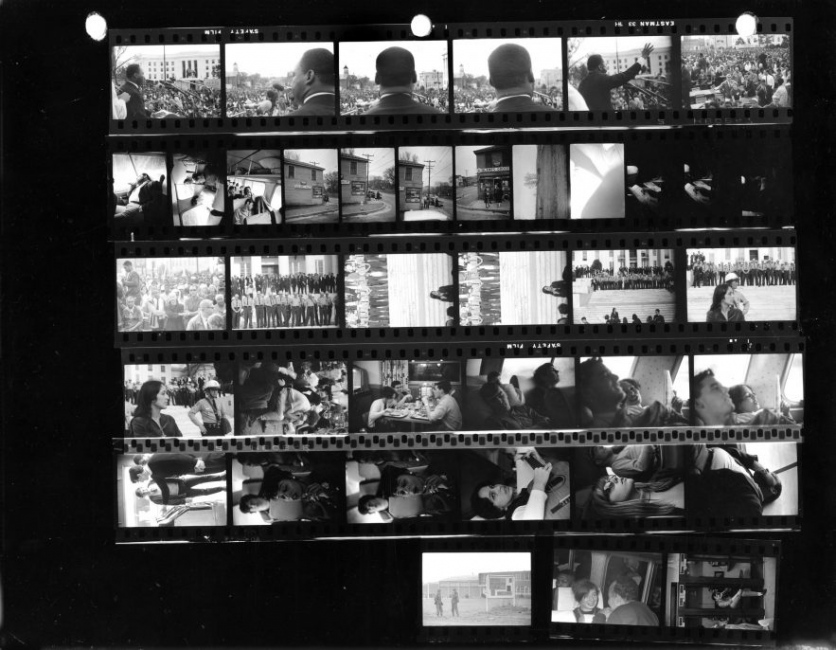 Photography image - Loading Somerstein_MLK-Contact-Sheet_Med-res-scan-e1483133136436.jpg