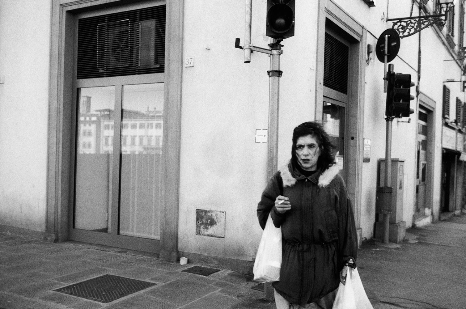 Art and Documentary Photography - Loading woman_cornerw_bags.jpg